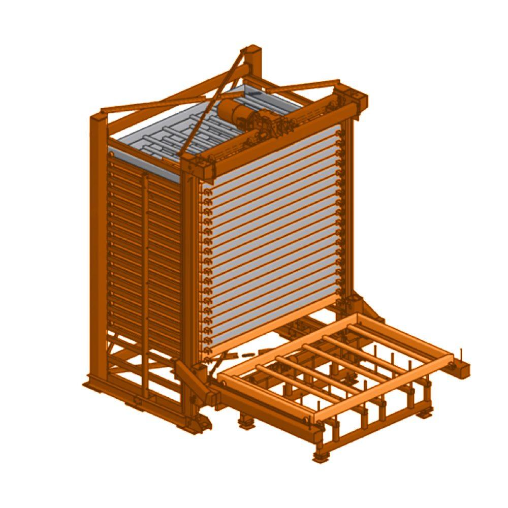 Автоматический стеллаж-башня